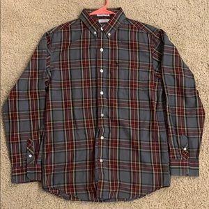 IZOD Plaid casual button down shirt